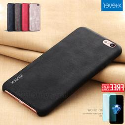 Luxury Ultra-thin PU Leather Back Skin Case Cover For Apple