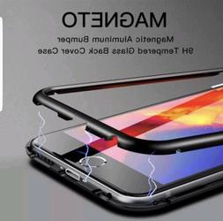 Magnetic Adsorption Metal Case Fits iPhone 8 Plus XR XS Max