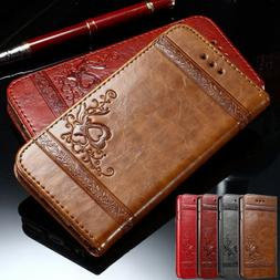 Magnetic Flip Leather Case Card Wallet Stand Cover for iPhon