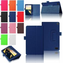 Magnetic Flip Leather Smart Case Cover For Amazon Kindle Fir