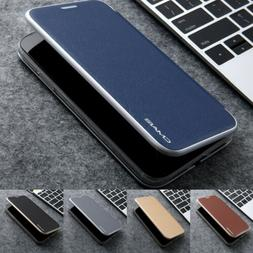 Magnetic Flip Leather Wallet Case Cover Stand For iPhone 12