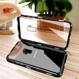 Magnetic Phone Case For Samsung S7 S7EDGE S8 Plus S9 Plus No