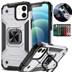 Magnetic Ring Kick Stand Case For iPhone 12 Pro Max 11 XS XR