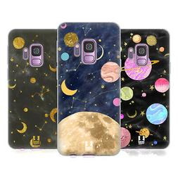 HEAD CASE DESIGNS MARBLE GALAXY SOFT GEL CASE FOR SAMSUNG PH