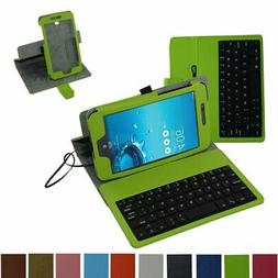 MeMO Pad 7 LTE ME375CL Micro USB Keyboard Case,Mama Mouth Ro