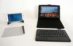mini wireless bluetooth touchpad keyboard case 7