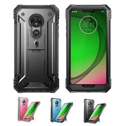 For Moto G7 Power Case | Rugged Shockproof Cover w/Built-In