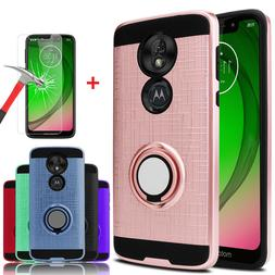 For Motorola Moto G7 Play/G7 Optimo Case With Ring Stand Hol