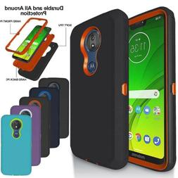 For Motorola Moto G7 Power/G7 Supra/G7 Plus Heavy Duty Shock
