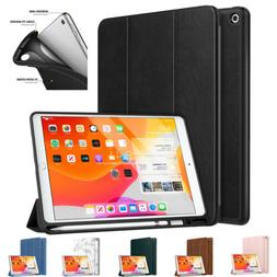 MoKo for New iPad 7th 10.2 2019 Smart Stand Protective Cover
