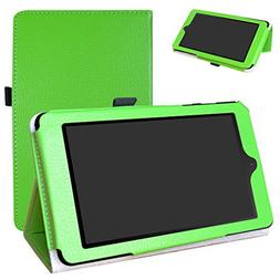 Nook Tablet 7 2016 Case,Mama Mouth PU Leather Folio 2-Foldin