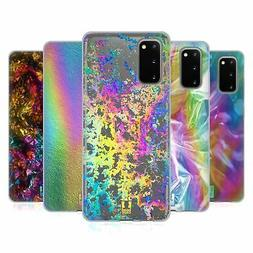 HEAD CASE DESIGNS OIL SLICK PRINTS SOFT GEL CASE FOR SAMSUNG