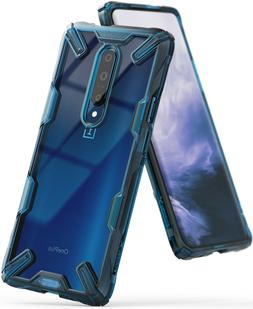 For OnePlus 7 Pro Case | Ringke  Clear PC Back Shockproof Bu