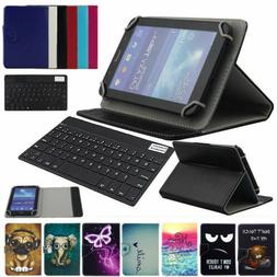 "For ONN 100005206 Surf Tablet 7"" Universal Leather Case Cove"