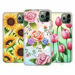 HEAD CASE DESIGNS ORGANIC FLORALS SOFT GEL CASE FOR APPLE iP