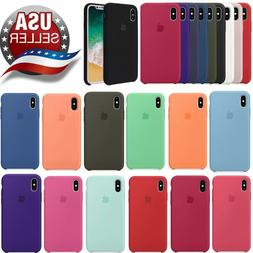 For Apple iPhone X XR XS MAX 8 7 6 6s plus OEM Soft Silicone