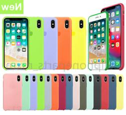 Original Silicone Genuine Luxury Case Cover For Apple iPhone