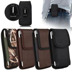 Phone Belt Pouch Case Vertical Holster Clip Flip Holder for