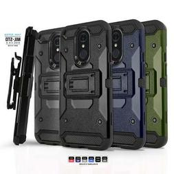 Phone Case for LG Q7 PLUS,  Shockproof Cover & Holster Belt