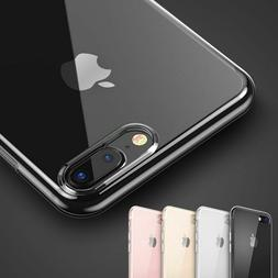 Phone Case Soft Silicone Clear Transparent Slim TPU for iPho