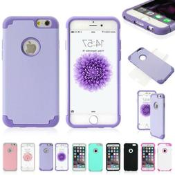 Protective Hybrid Shockproof Soft Case Cover For Apple iPhon