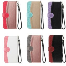 PU+TPU Flip Case Synthetic Leather Wallet Cover For iPhone X