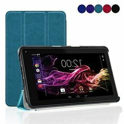 ACdream RCA 7 Voyager Tablet Case, Slim Fold PU Leather Cove