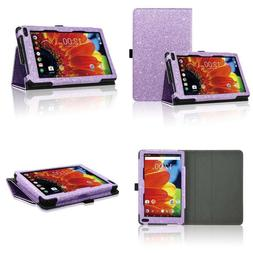 Acdream Rca Voyager 7 Case, Folio Premium Pu Leather Cover C