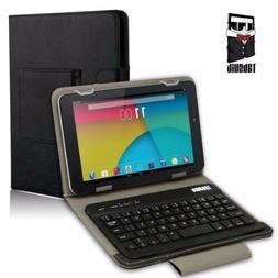 Removable Bluetooth Keyboard Case Cover for Android Tablet 7