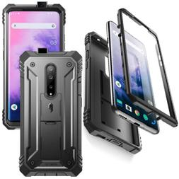 Poetic  For OnePlus 7 Pro Case w/Screen Protector Cover Blac