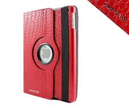 SANOXY® 360 Degrees Rotating Stand PU Leather Case for iPad