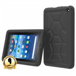 Poetic TurtleSkin Fire 7 2015 Rugged Case Cover with Heavy D