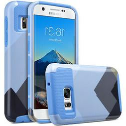 ULAK Samsung Galaxy S7 Case Dual Layer Style Scratch Resista