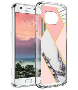 ULAK Case Samsung Galaxy S7 Shockproof Hybrid Protective Sil