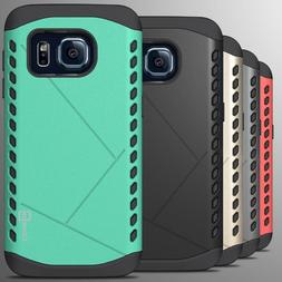 For Samsung Galaxy S7 Case - Slim Grip Armor Hybrid Protecti