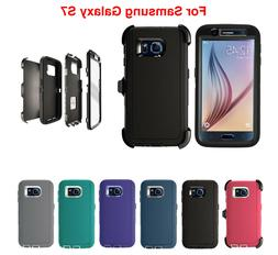 For Samsung Galaxy S7 Defender Case w/  & Screen Protector