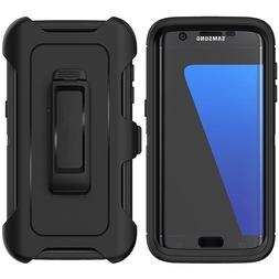 For Samsung Galaxy S7 Edge Case with Belt Clip | Fits Otterb