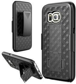 Samsung Galaxy S7 Holster Combo Belt Clip Cell Phone Case Wi
