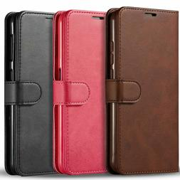 For Samsung GALAXY S7 Leather Flip Wallet Case Cell Phone Co
