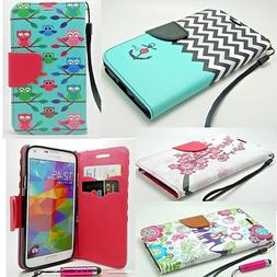 For Samsung GALAXY S6 edge Phone Pu Leather Flip Wallet Case