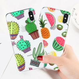 For Samsung S7 S8 S9 Plus Case Pattern Cute Soft TPU Silicon