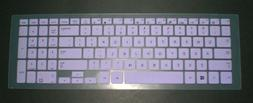BingoBuy Semi-Purple Ultra Thin Silicone Keyboard Protector