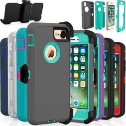 Shockproof Hard Case Cover For Apple iPhone 7 / 8 / Plus Fit