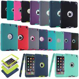 Shockproof Heavy Duty Rugged Tablet Cover Case For iPad Mini