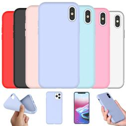 Silicone Case for iphone 11 Pro X XS Max XR SE 2020 8 7 6S P