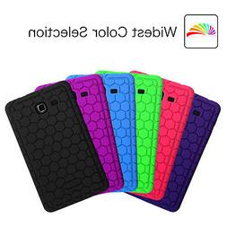 Fintie Silicone Soft Back Case Cover For Samsung Galaxy Tab