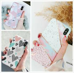 Slim Fit Pink Cute Case Soft TPU Protective Covers For iPhon
