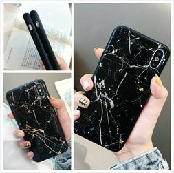 Slim Fit Protective Case Marble Phone Cover For iPhone 7 8 P