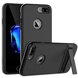 JETech Slim-Fit iPhone 7 Plus Case Cover with Microfiber and