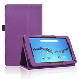 Smartab 7 HD Case, ACdream Folio Premium PU Leather Tablet C